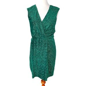 Free People Emerald Textured Velvet Bodycon Dress